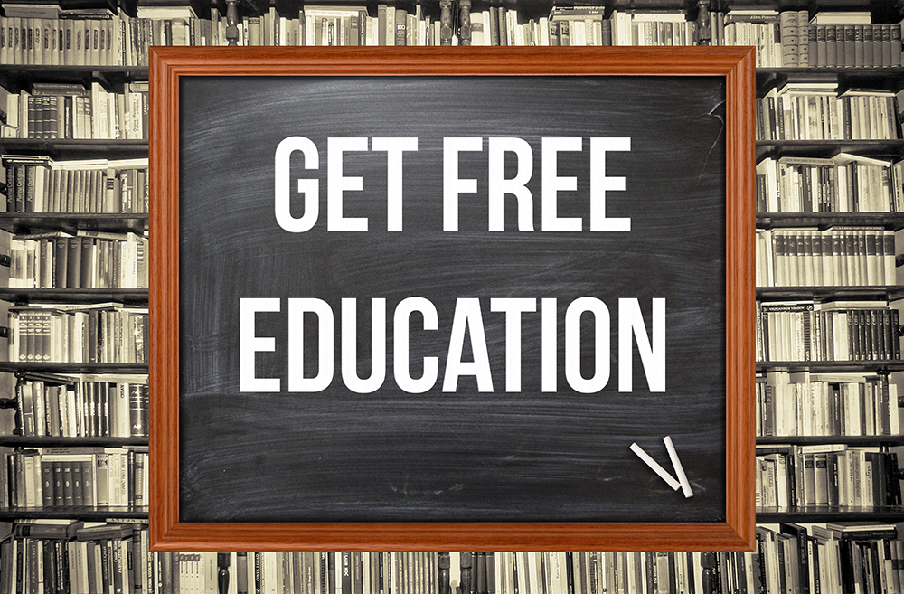 Get Educated for Free