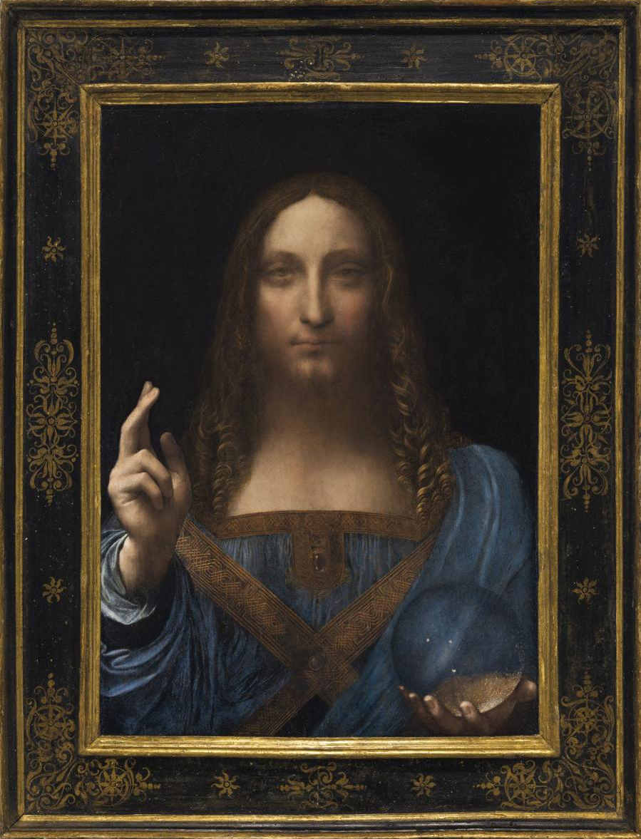 """SALVATOR MUNDI"" $450.3 Million Sale"